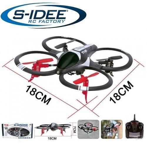s-idee® 17114 Quadrocopter X-Drohne H05N Drohne Flipfunktion u.v.m. 4 Kanal!